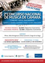 2do. Concurso Nacional de Música de Cámara - Damus - UNA