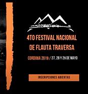 4to. Festival Nacional de Flauta Traversa - Córdoba
