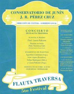5to. Festival de Flauta Traversa en Junín, Bs. As.