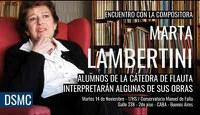 Encuentro con la compositora Marta Lambertini