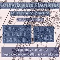 Luthería para flautistas