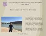 Masterclass de Flauta del Prof. Fernando Uehara
