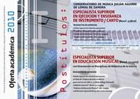 Inscripciones para Postítulos en el Cons. J. Aguirre