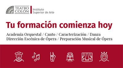 Teatro Colón: Inscripción Academia Orquestal - 2019 ISA