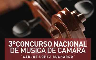 """Tercer Concurso Nacional de Música de Cámara """"Carlos López Buchardo"""" DAMus - UNA"""