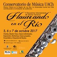 """V Encuentro Internacional de Flauta Traversa """"Flauteando en el río 2017"""""""