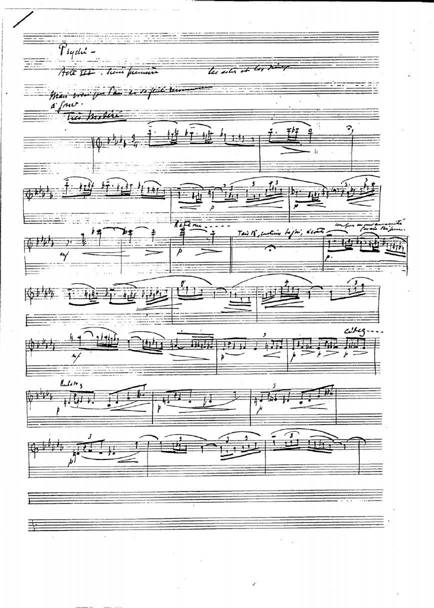 Syrinx o La Flauta de Pan, de C. Debussy - Un acercamiento a su interpretación