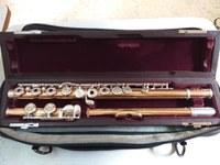 Flauta muramatsu 9 kilates