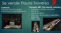 Flauta YAMAHA 481