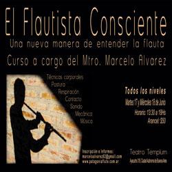 Schöne Musik Curso El Flautista Consciente Bs As Argentina