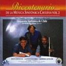 """""""Bicentenario de la Música sinfónica Chilena, Vol. 2"""" cd"""